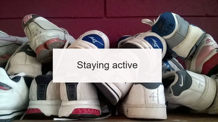 Keeping active